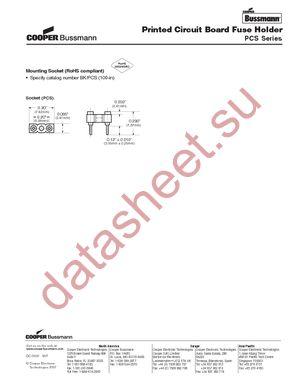BK/PCS datasheet.